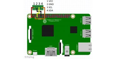 Raspberry Pi: I2C OLED displej SSD1306