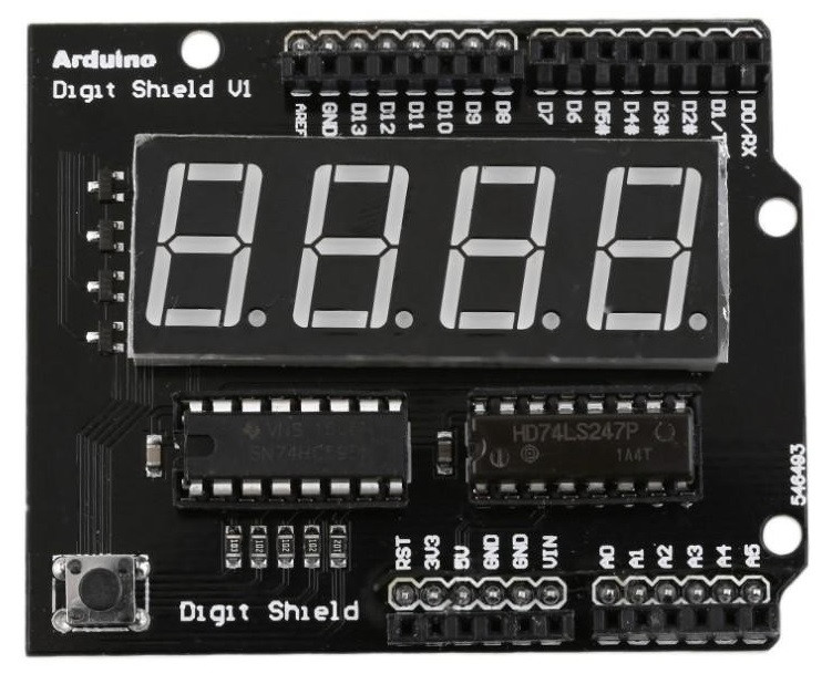 Arduino Digit Shield