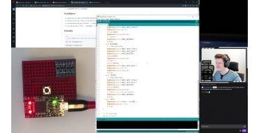 Arduino Klávesnice s USB a Bluetooth Low Energy