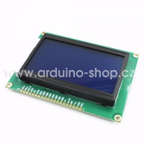 Grafický LCD display 128x64 ST7920 | Arduino návody
