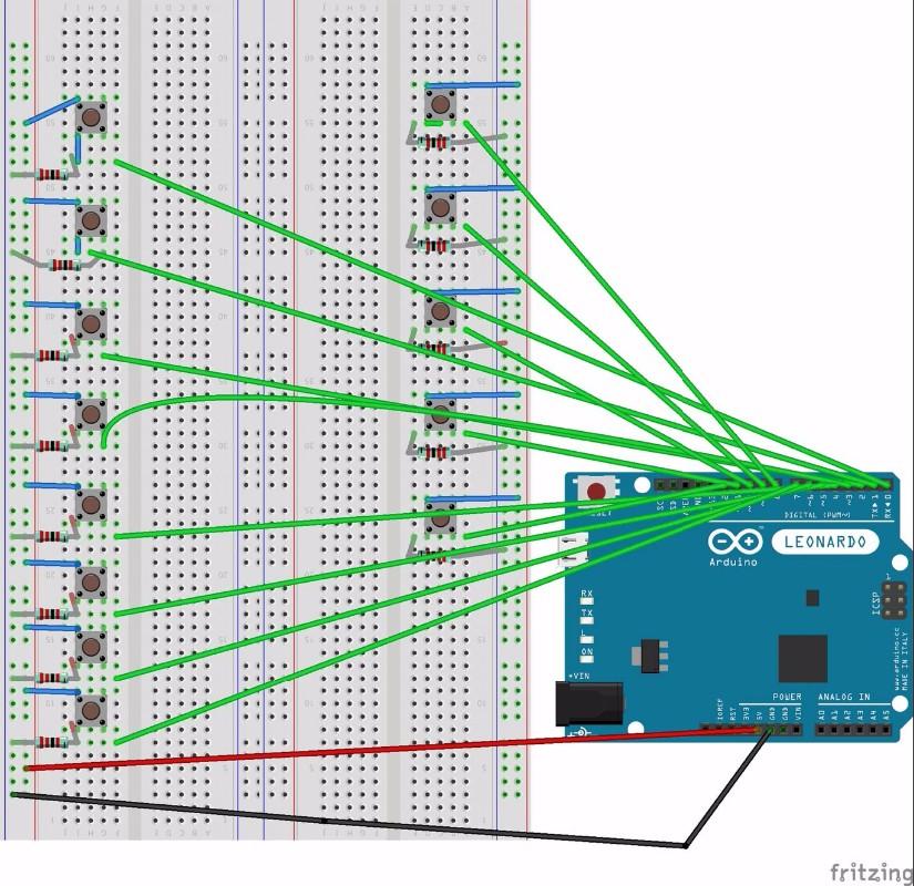 Arduino launchpad návody