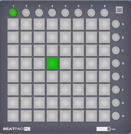 Program Beatpad pro Arduino Launchpad