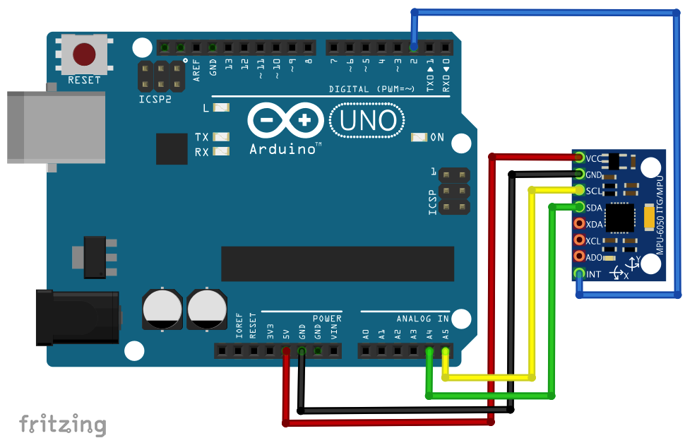 Mpu6050 arduino library zip download
